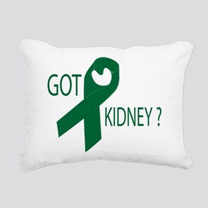 Got Kidney Rectangular Canvas Pillow