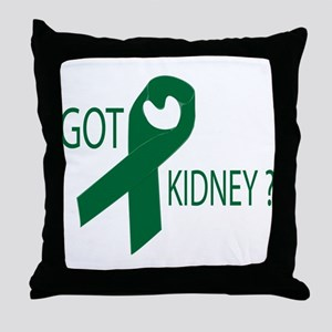 Got Kidney Throw Pillow
