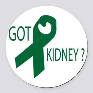 Got Kidney Round Car Magnet