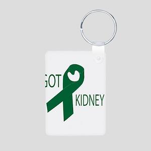 Got Kidney Aluminum Photo Keychain