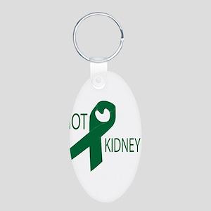 Got Kidney Aluminum Oval Keychain