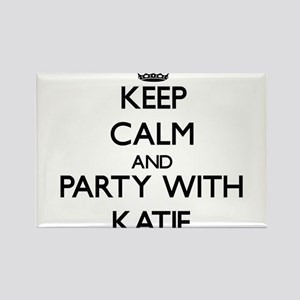 Keep Calm and Party with Katie Magnets