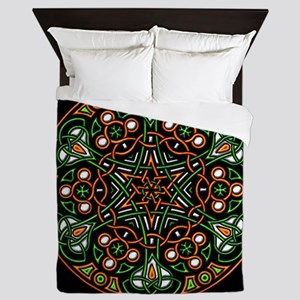 Eire Wheel Queen Duvet