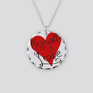 is_love_rosalie Necklace Circle Charm