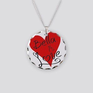 is_love_bella Necklace Circle Charm