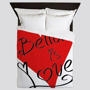 is_love_bella Queen Duvet