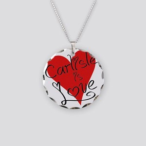 is_love_carlisle Necklace Circle Charm