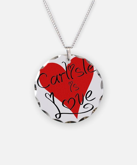 is_love_carlisle Necklace