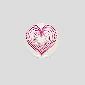 hearts 3TD Mini Button