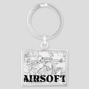 airsoft 010 Landscape Keychain