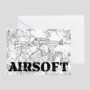 airsoft 010 Greeting Card
