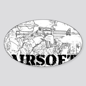airsoft 010 Sticker (Oval)