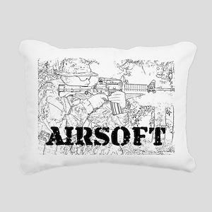 airsoft 010 Rectangular Canvas Pillow