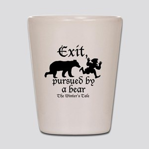 Exit-Bear cafe press Shot Glass