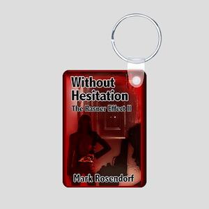 Without Hesitation Mouse P Aluminum Photo Keychain