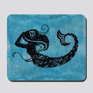 mermaid-worn_13-5x18 Mousepad