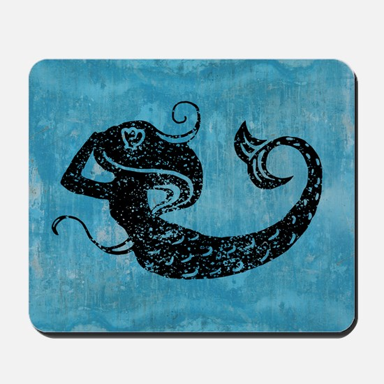mermaid-worn_13-5x18 Mousepad