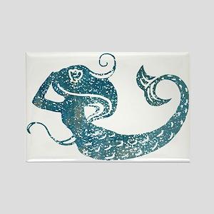 mermaid-worn_tr Rectangle Magnet