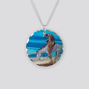 Trail of tears Necklace Circle Charm