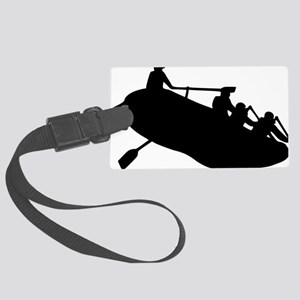 rafting Large Luggage Tag