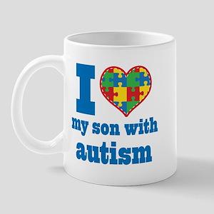 Autism - I Love My Son Mug