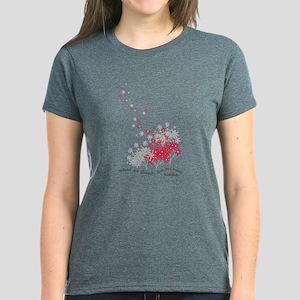 Buddha Quotes - Think Women's Dark T-Shirt