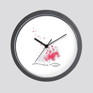 Buddha Quotes - Think Wall Clock