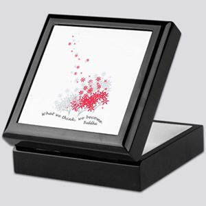 Buddha Quotes - Think Keepsake Box