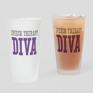 Speech Therapy DIVA Drinking Glass