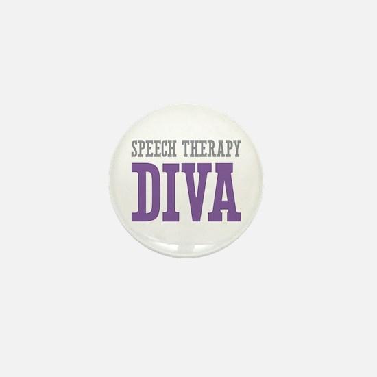 Speech Therapy DIVA Mini Button