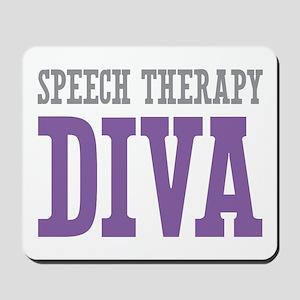 Speech Therapy DIVA Mousepad