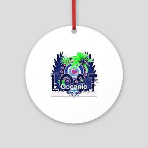 oceanic lost 1977 Round Ornament