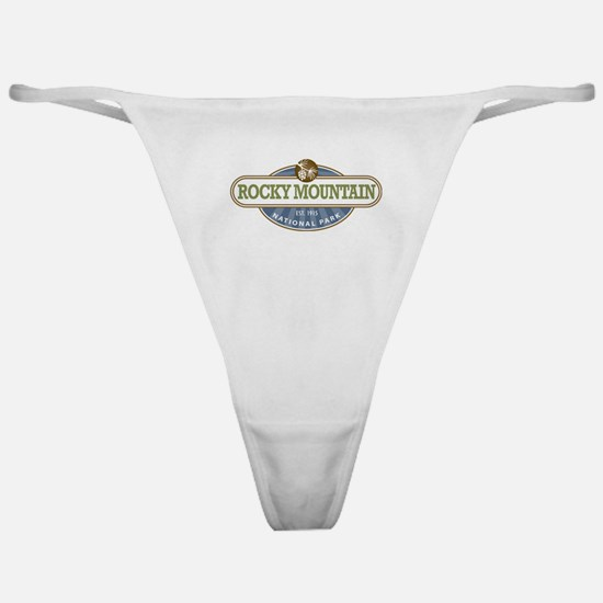 Rocky Mountain National Park Classic Thong