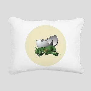 Little Dragon Rectangular Canvas Pillow