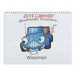 Southside Cruisers Logo Wall Calendar
