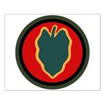24th Infantry Small Poster