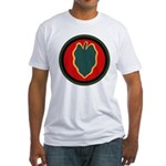 24th Infantry Fitted T-Shirt
