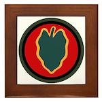 24th Infantry Framed Tile