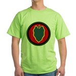 24th Infantry Green T-Shirt