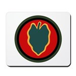 24th Infantry Mousepad
