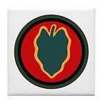 24th Infantry Tile Coaster