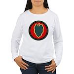24th Infantry Women's Long Sleeve T-Shirt