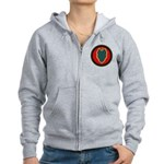 24th Infantry Women's Zip Hoodie