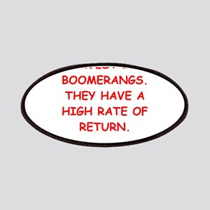 boomerang Patches