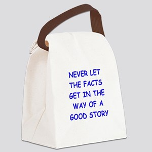 facts Canvas Lunch Bag