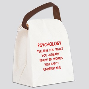 psychology Canvas Lunch Bag