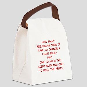 freudian slip Canvas Lunch Bag