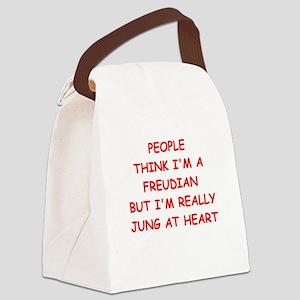 psychiatry Canvas Lunch Bag