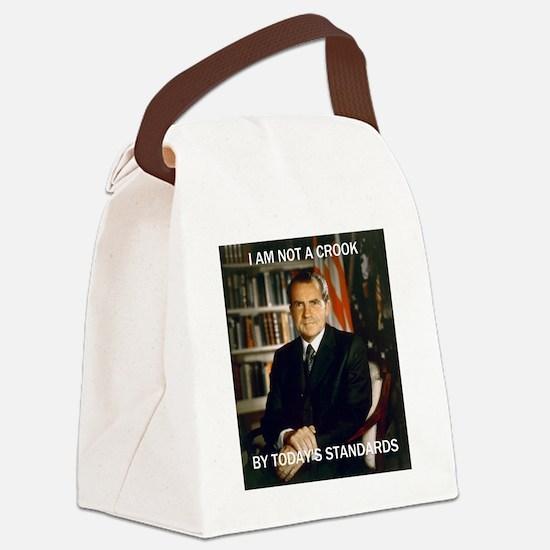 i am not a crook Canvas Lunch Bag