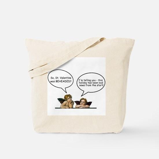 Cherubs Valentine Banter Tote Bag